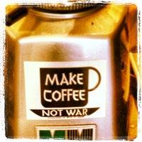 Photo taken at Bauhaus Kaffee by Bruce M. on 12/27/2012