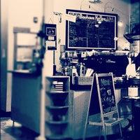 Photo taken at Bauhaus Kaffee by Bruce M. on 1/12/2013