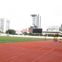 Photo taken at Thephasadin Stadium by Thanawat J. on 8/12/2016