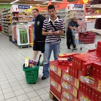 Photo taken at Auchan by Michele C. on 9/20/2012