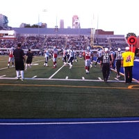 Photo taken at Varsity Stadium by Andrew R. on 6/21/2013
