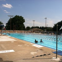 Photo taken at East Potomac Park Pool by Jesse on 7/25/2013
