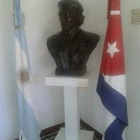 Photo taken at Museo Casa de Ernesto Che Guevara by Leandro B. on 1/26/2013