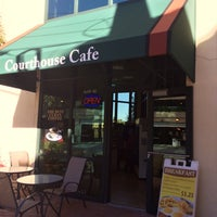 Photo taken at Courthouse Cafe' - WPB by Luis M. on 1/22/2014