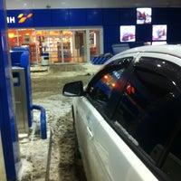 Photo taken at Газпромнефть АЗС № 1 by Tatiana👑P. on 12/1/2012