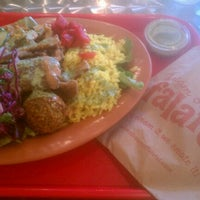 Photo taken at I Dream of Falafel by Jed S. on 1/18/2013