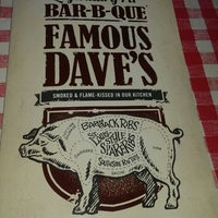 Photo taken at Famous Dave's by Wj K. on 1/19/2014