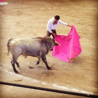 Photo taken at Plaza de Toros Arroyo by Tere C. on 11/24/2012