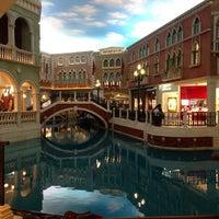 Photo taken at The Venetian Macau Resort by Jeremy S. on 1/4/2013