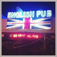 Photo taken at English Pub by Timofey Z. on 12/27/2012