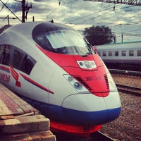 Photo taken at Kursky Rail Terminal by Alexey on 7/12/2013