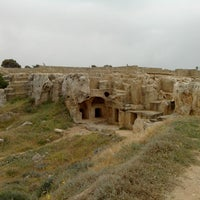 Photo taken at Tombs of the Kings by Evgeny on 4/8/2013