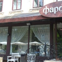 Photo taken at Фарфор Кафе / Farfor Cafe by Viktor I. on 5/14/2013