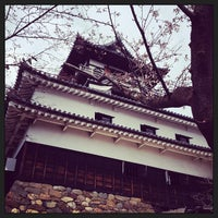 Photo taken at Inuyama Castle by yass_taken on 3/25/2013