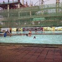 Photo taken at Kolam Renang & Waterpark Pondok Indah by Ferry Z. on 10/28/2012