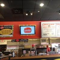 Photo taken at MOOYAH Burgers, Fries & Shakes by Sherri J. on 10/24/2012