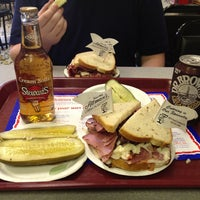 Photo taken at Attman's Authentic New York Delicatessen by Marc S. on 6/10/2013