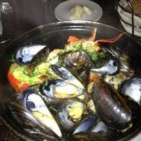 Photo taken at Belga Cafe by Malik on 12/3/2012