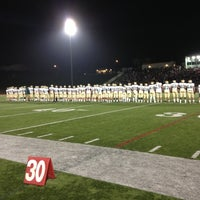 Photo taken at Redondo Union Football Stadium by Kelsey W. on 11/3/2012