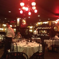 Photo taken at Sparks Steak House by Юлия Д. on 12/28/2012