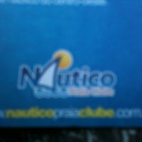 Photo taken at Nautico Praia Clube by Ana Paula on 12/20/2012