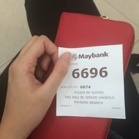 Photo taken at Maybank by Azni I. on 8/12/2016