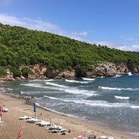Photo taken at Sunj Lopud Beach by Ghada O. on 9/17/2016