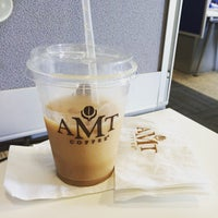 Photo taken at AMT Coffee by Brian S. on 7/15/2015