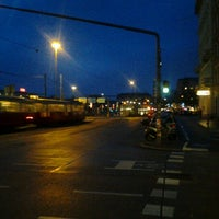 Photo taken at Praterstern by Markus P. on 12/19/2012