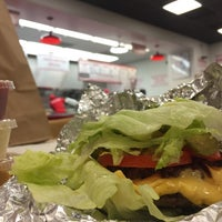 Photo taken at Five Guys by Steven D. on 1/12/2016
