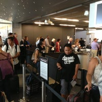 Photo taken at Terminal 3 Security Checkpoint by Deborah B. on 8/27/2013