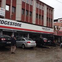 Photo taken at BRIDGESTONE - YAMAN OTO LASTİK by Fazıl C. on 10/31/2014