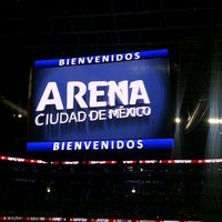 Photo taken at Arena Ciudad de México by Viko G. on 6/8/2013