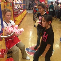 Photo taken at Build-A-Bear Workshop by Van L. on 12/9/2012