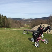 Photo taken at Ypsilon Golf Resort Liberec by Katerina K. on 4/12/2015