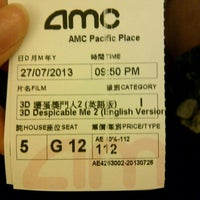 Photo taken at AMC Pacific Place by Chloe N. on 7/27/2013