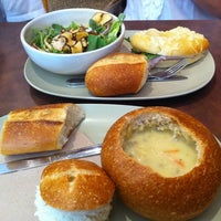 Photo taken at Panera Bread by Sella Y. on 9/30/2012