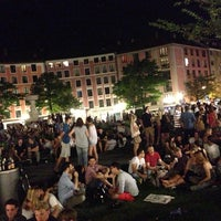 Photo taken at Gärtnerplatz by Martin S. on 7/26/2013