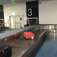 Photo taken at Baggage Claim by Clarke B. on 6/3/2015