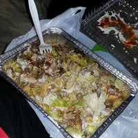 Photo taken at Halal Food Stand (across from Pizza Wagon) by James T. on 7/23/2014