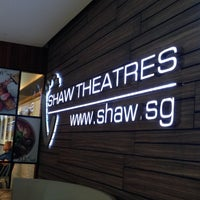 Photo taken at Shaw Theatres by Surwani H. on 4/20/2013