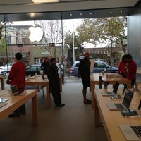 Photo taken at Apple Store, 4th Street by Luis P. on 12/1/2012