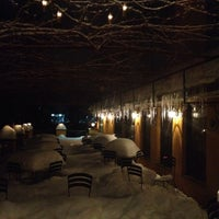 Photo taken at Aroma Osteria Restaurant by Christine C. on 2/15/2014