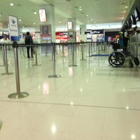 Photo taken at T2 Multi-User Domestic Terminal by Dennis X. on 2/9/2013