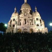 Photo taken at Basilique du Sacré-Cœur de Montmartre by Jason S. on 7/6/2013