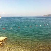 Photo taken at Torba Plajı by Ali Murat T. on 10/26/2012