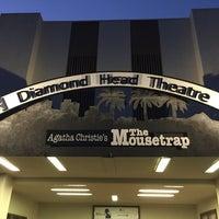 Photo taken at Diamond Head Theatre by Erich S. on 1/28/2016