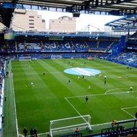 Photo taken at Stamford Bridge by Donatas G. on 4/28/2013