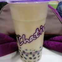 Photo taken at Chatime by fitri apsari s. on 2/4/2014