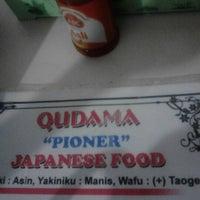 Photo taken at Qudama Japanese Food by Rucy Arum W. on 9/24/2012